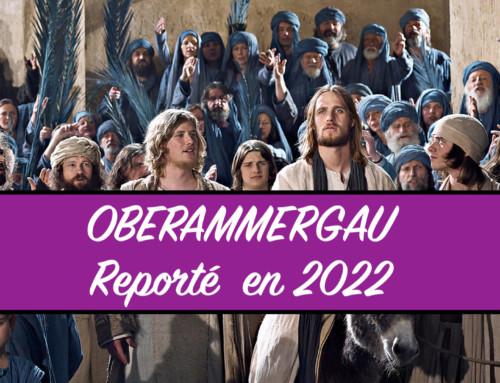 Oberammergau 2022   de l'Alsace  à la Haute-Savoie