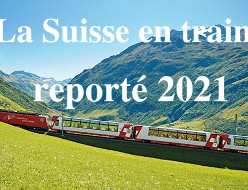 La Suisse en train 2021